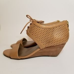 BCBGeneration Veroniqu2 Brown Leather Sandals